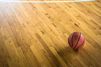 girls basketball stock image