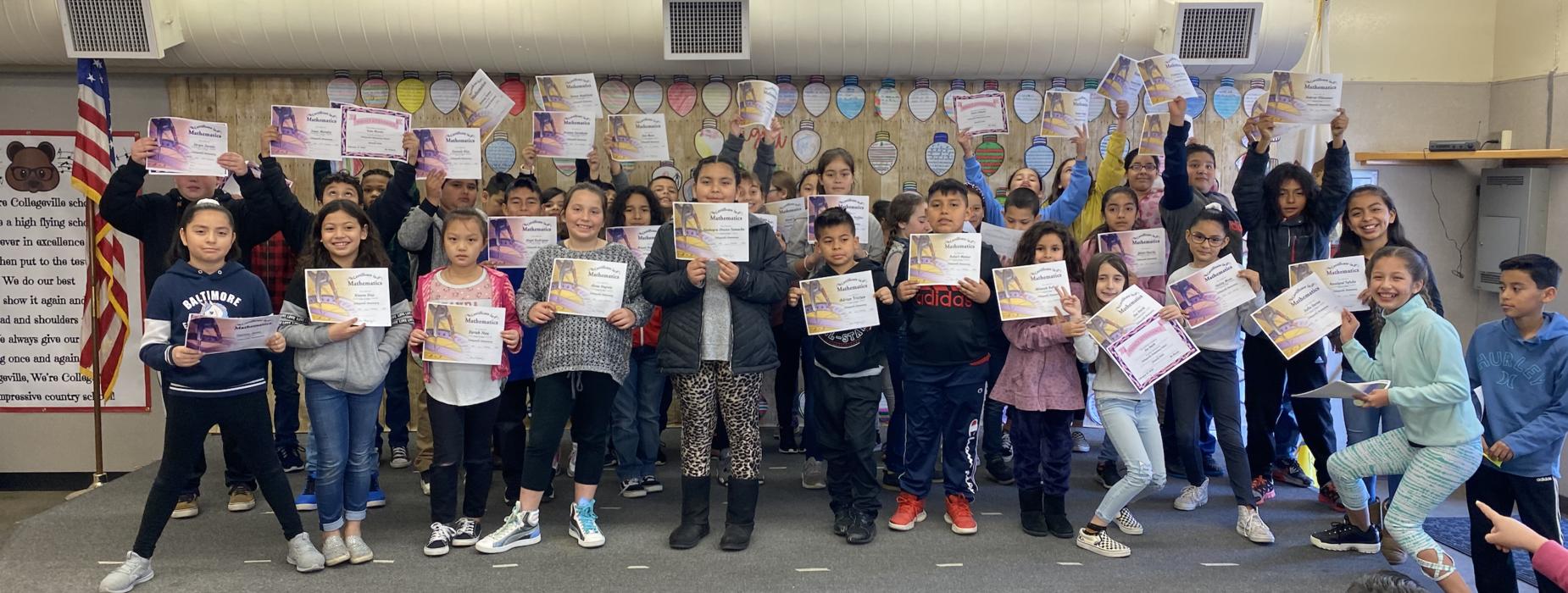 Students celebrate academic achievement