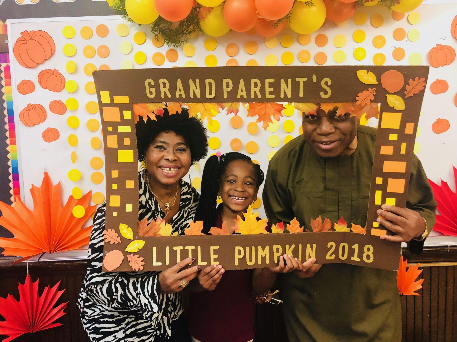 Grandparents with Student