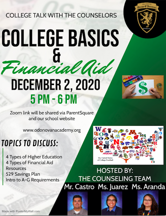 College Talk with the Counselors Thumbnail Image