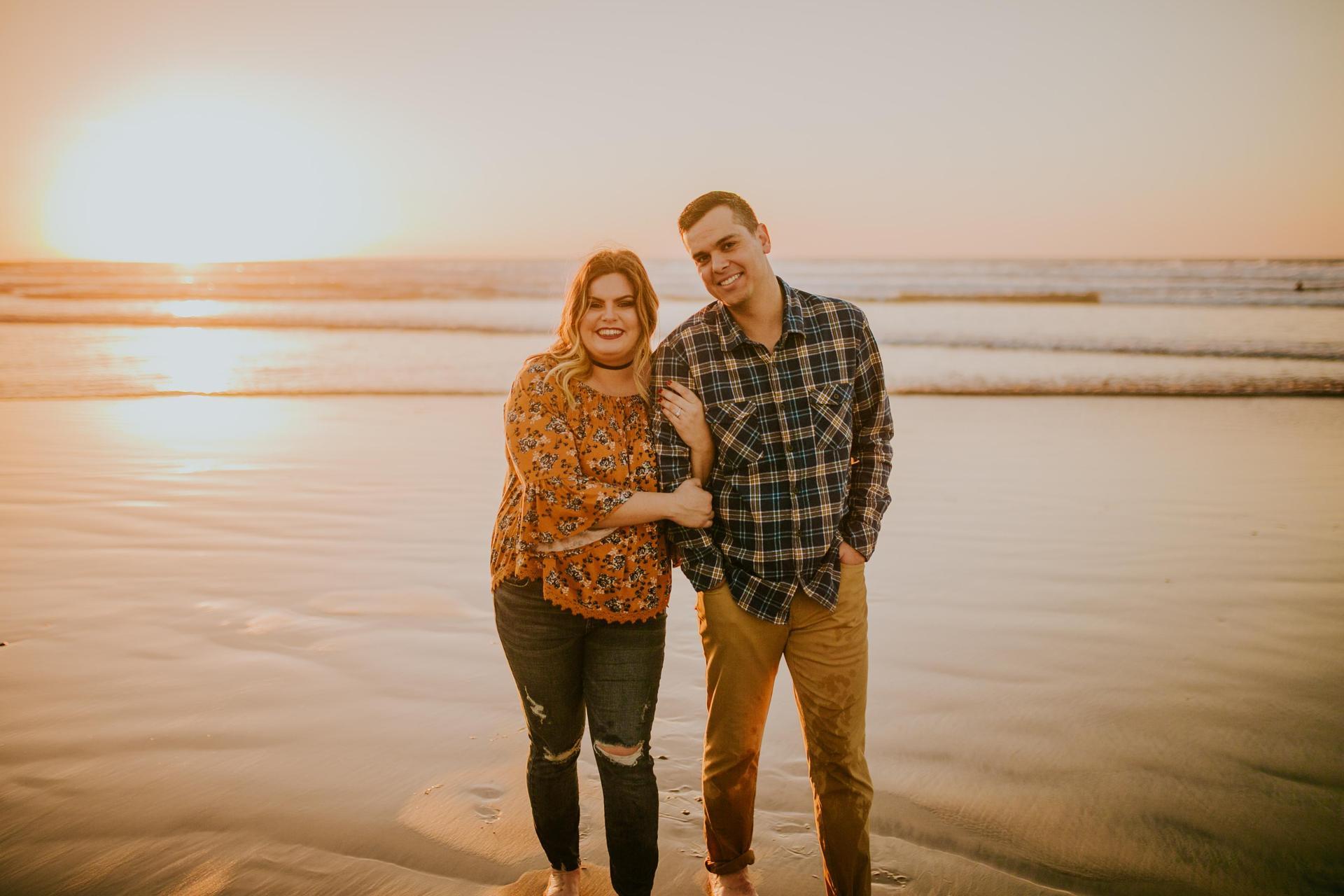Mr. & Mrs. Brunette