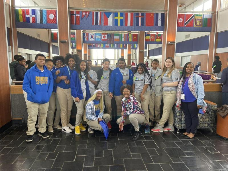 PHS Robotics Club/Geometry Students Attend National Engineering Week at the University of New Orleans Thumbnail Image