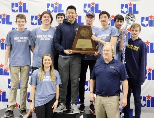 Boys swim and dive team takes 3rd at State, captures two gold medals Featured Photo