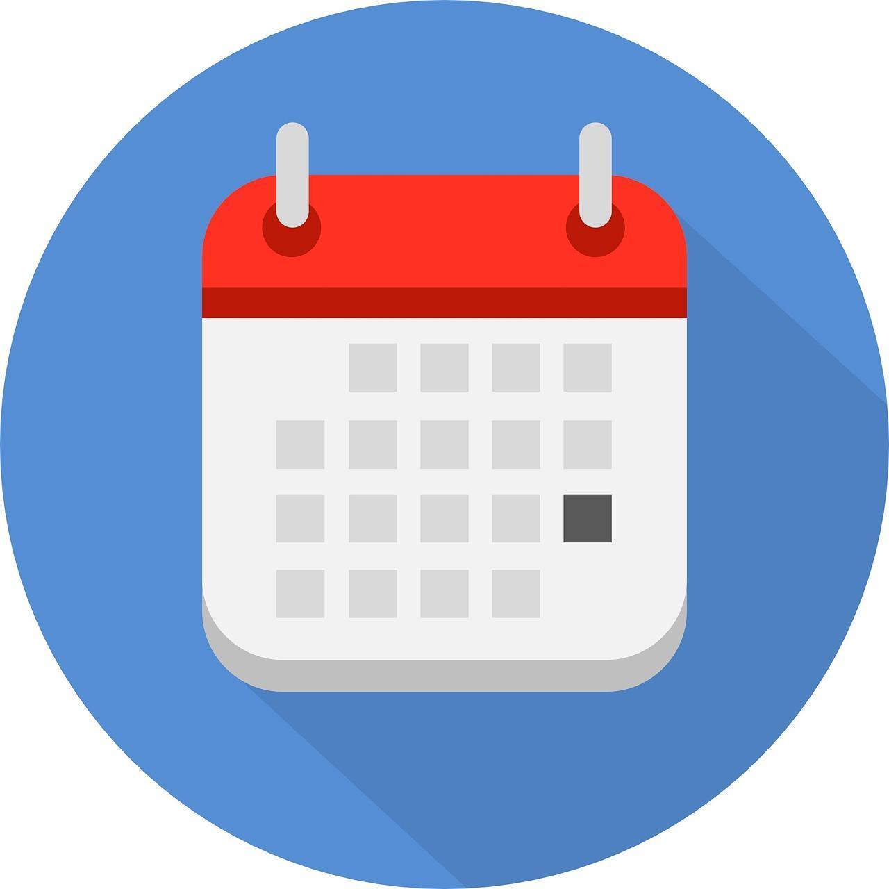 Image of calendar icon
