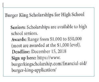 Scholarships – Guidance – Smith County High School