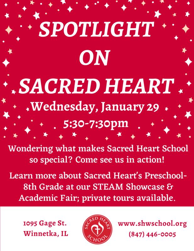 spotlight on sacred heart