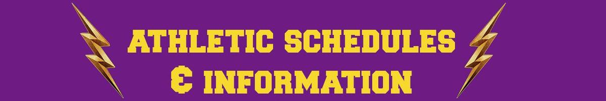 athletics information and schedule