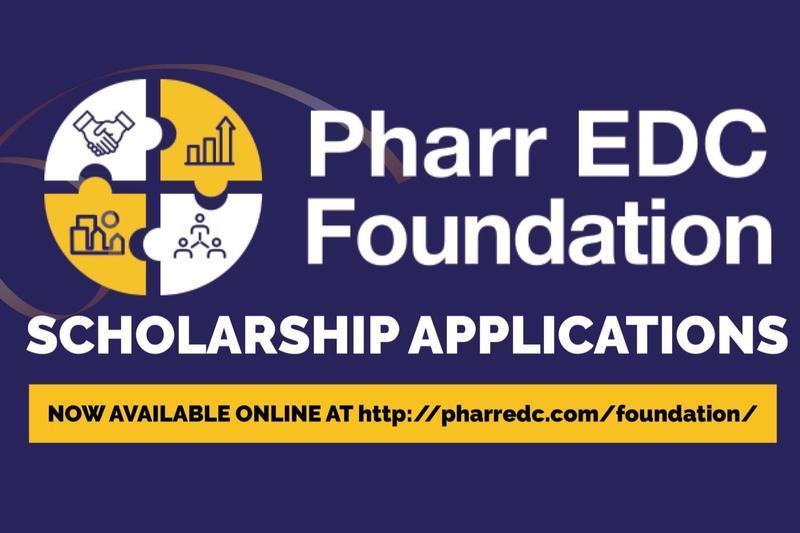 Pharr EDC Foundation Announces Scholarship Program for Pharr Students (EXTENDED to Monday, April 19, 2021 5PM) Thumbnail Image