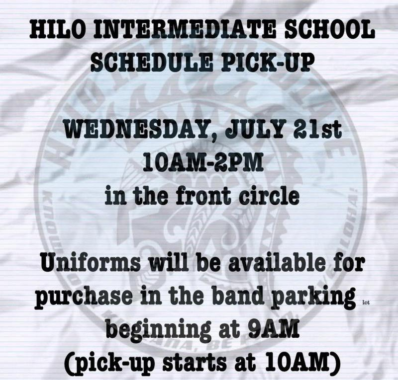 Schedule Pick-Up and Uniform Purchase Featured Photo