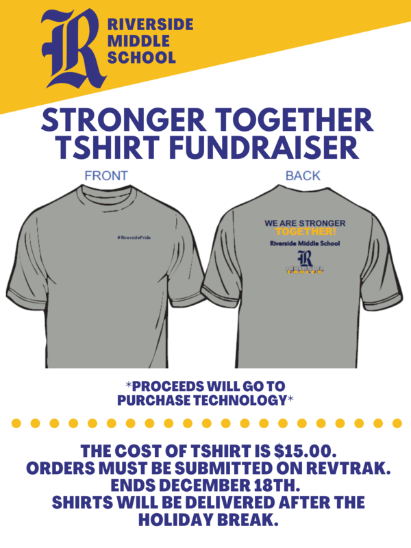 Order your RMS Stronger Together T-Shirt Today! Featured Photo