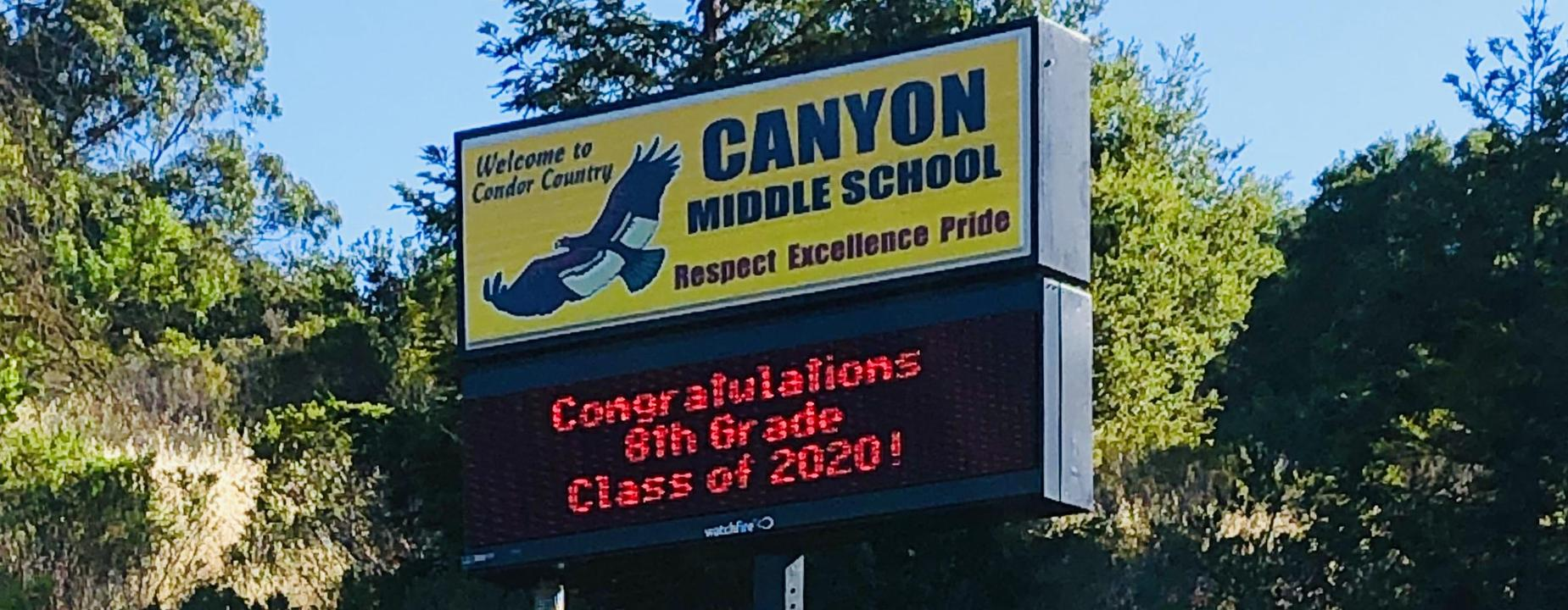 Canyon Marquee