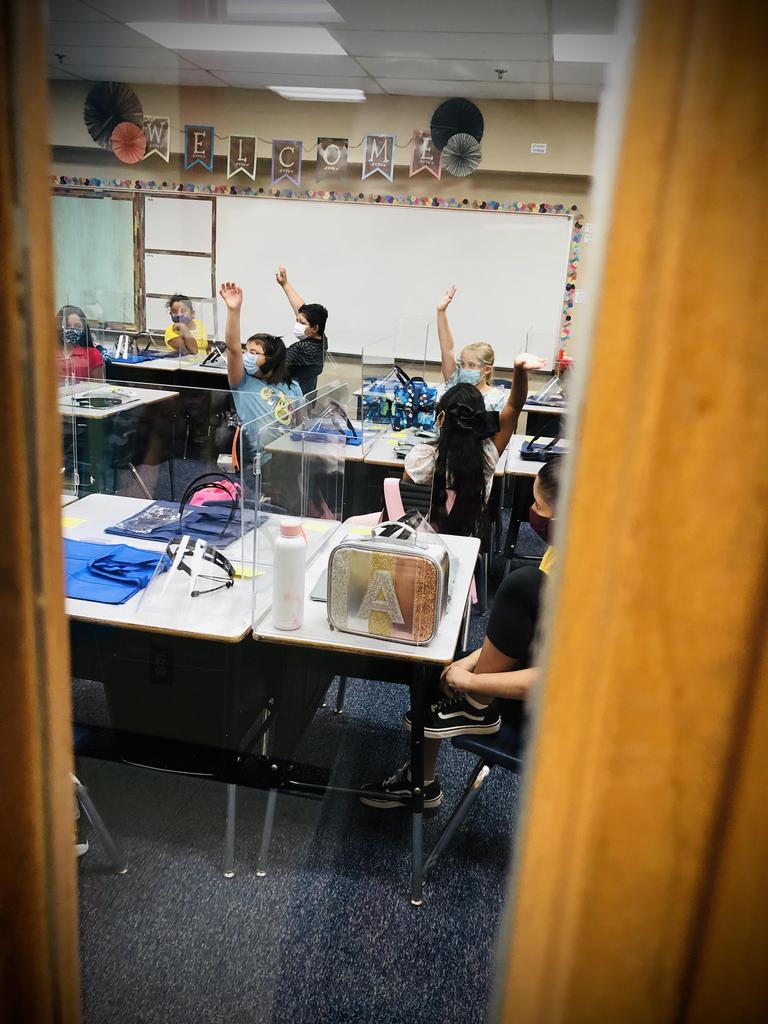 4th grade class.
