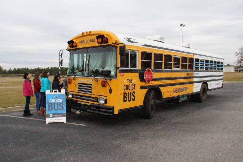 """""""The Choice Bus"""" Demonstrates the Power of Education to B-L Middle School Students"""