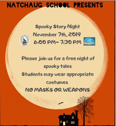 Natchaug's Spooky Story Night Thumbnail Image