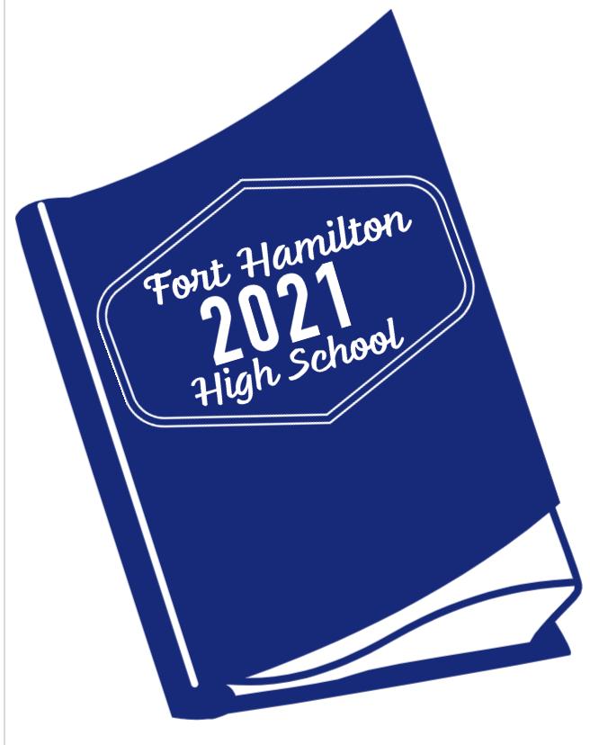 Fort Hamilton High School yearbook graphic