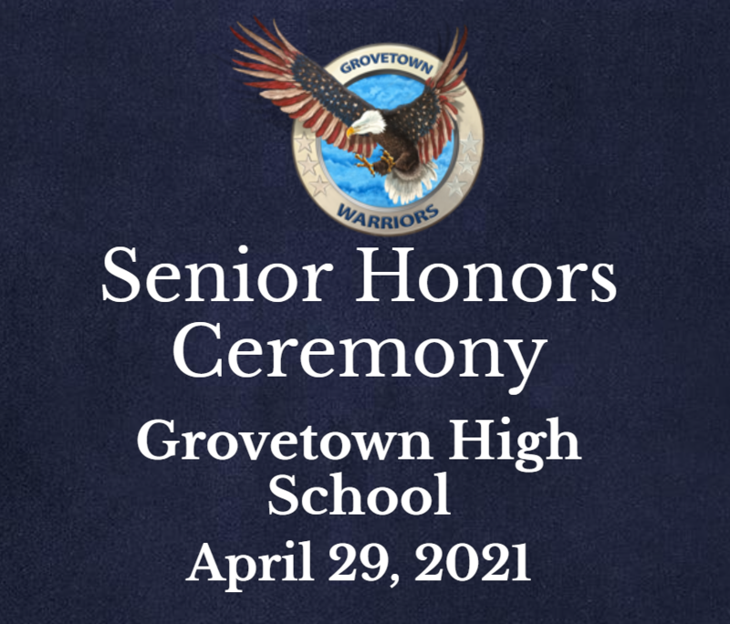 GTHS Senior Honors Ceremony 2021 Featured Photo