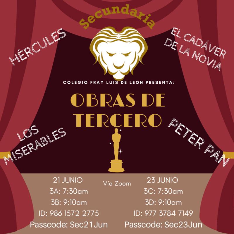 Obras de Teatro. Proyecto Terceros Secundaria Featured Photo