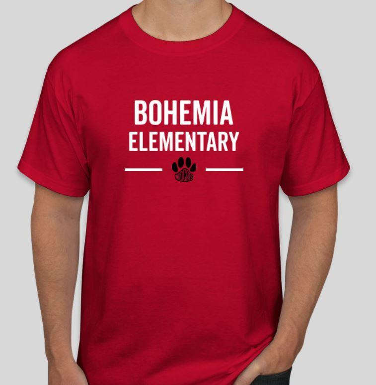 Support your school and purchase a Bohemia t-shirt!! Featured Photo