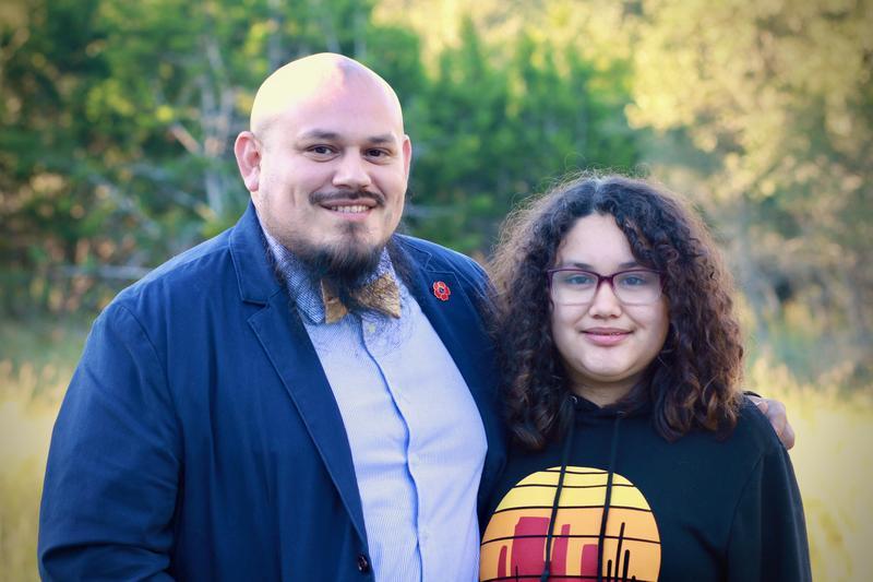 Juan Carlos Vasquez and daughter Julia