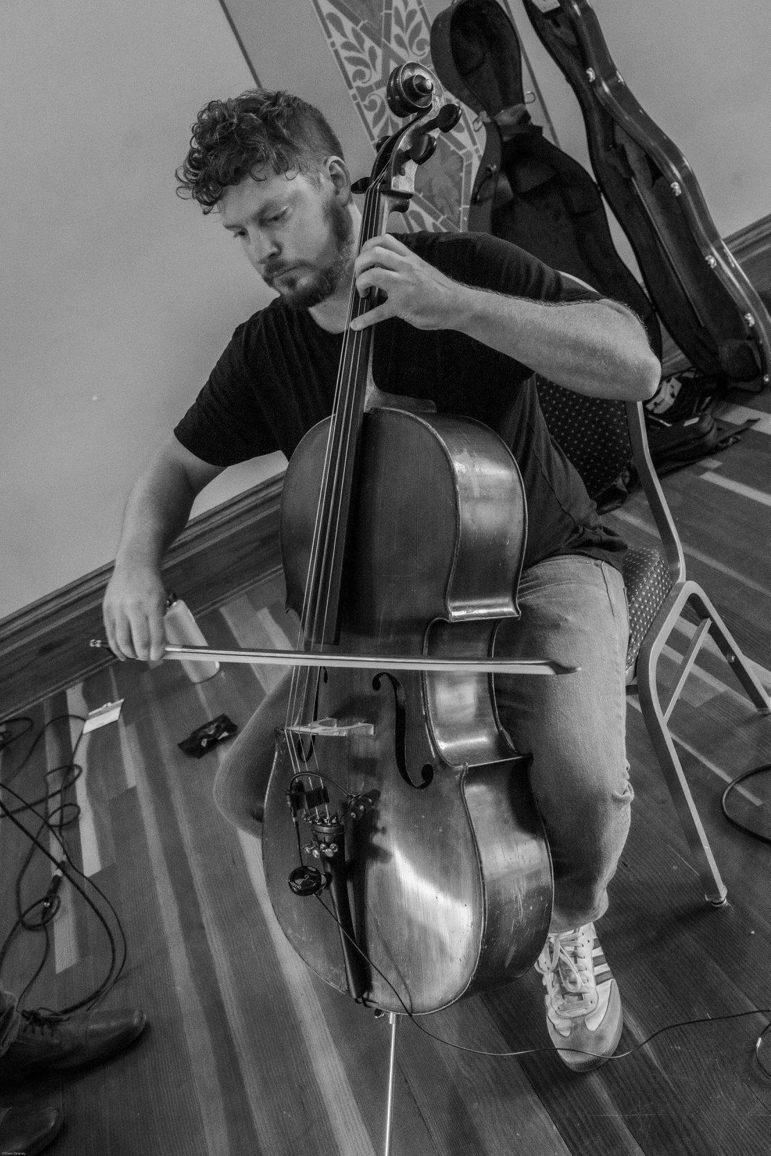 Cello player