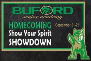 Homecoming Show Your Spirit showdown