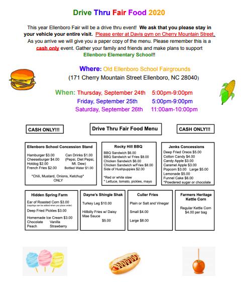 Ellenboro School Drive Thru Food Fair Featured Photo