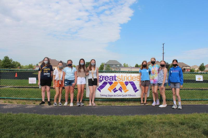 HIckory Creek Students Participate in Great Strides Cure Cystic Fibrosis Walk Featured Photo