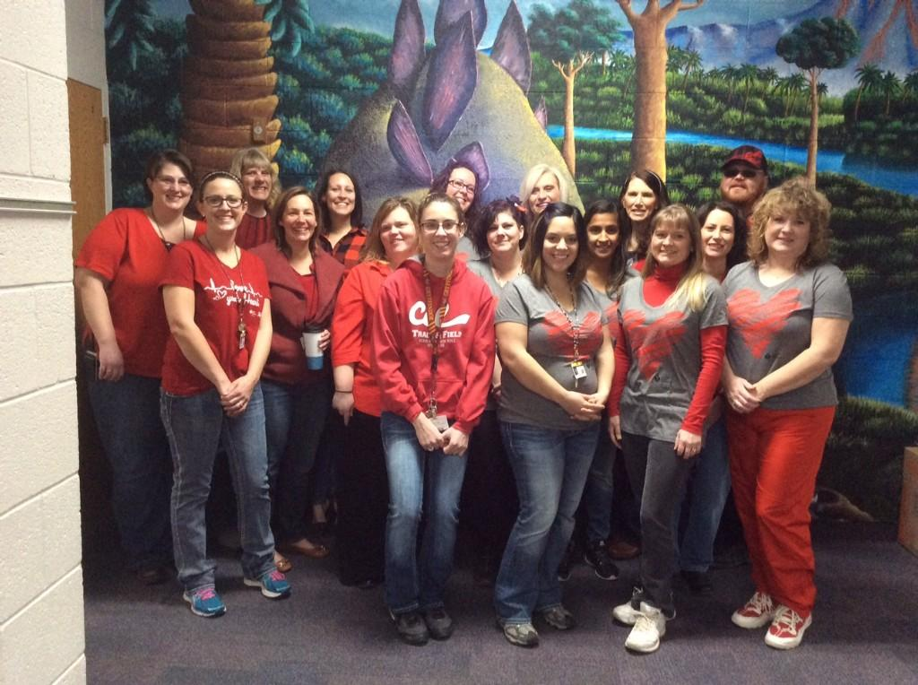THANKS TO ALL WHO PARTICIPATED IN THE GO RED FOR WOMAN DAY! GREAT JOB CES!