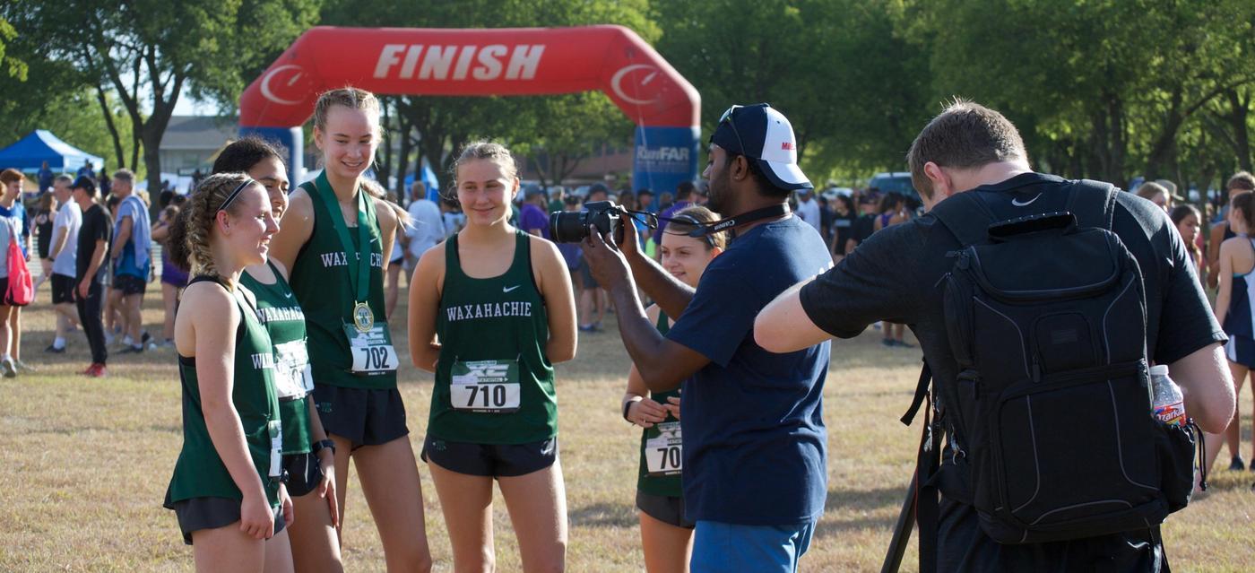 varsity girls interviewed by texas mile split