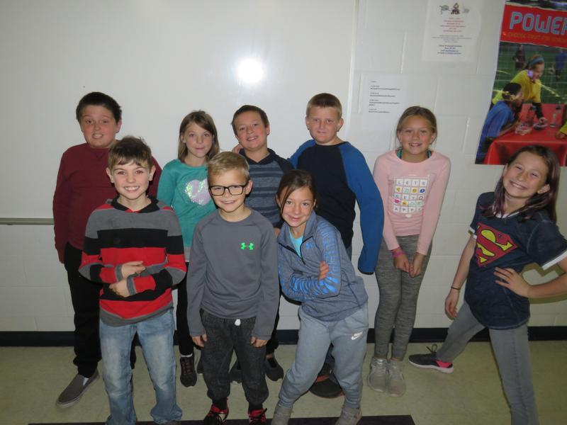 Page Elementary fourth-graders participated in the character assembly focusing on respect and gratitude.