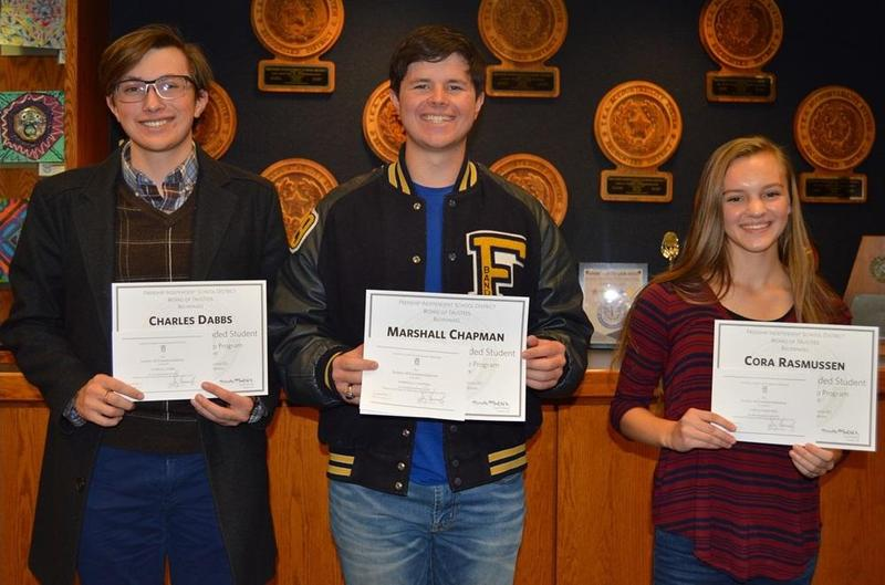 FHS National Merit Commended Students