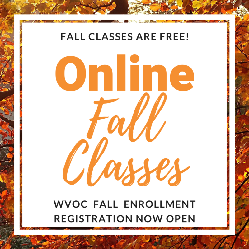 Fall Classes are Free