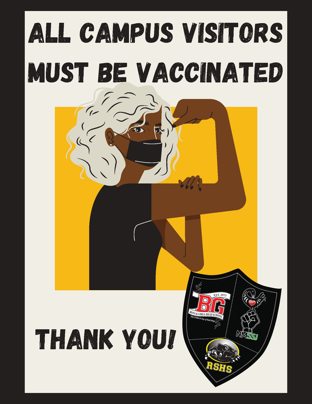 All Campus Visitors must be Vaccinated