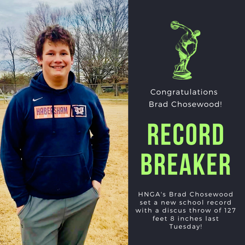 Chosewood Sets new Discus Record