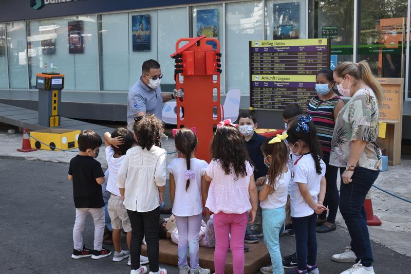Clases de primeros auxilios en el Kindergarten (K1) Featured Photo