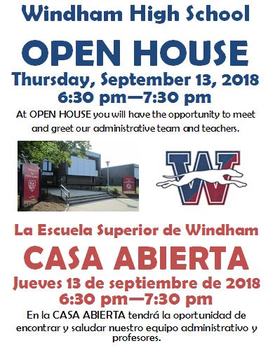 Open House/Casa Abierta Thumbnail Image
