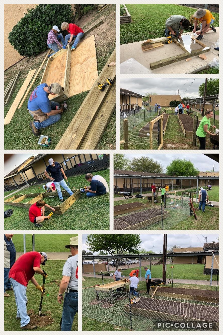 Building the Escandon Garden