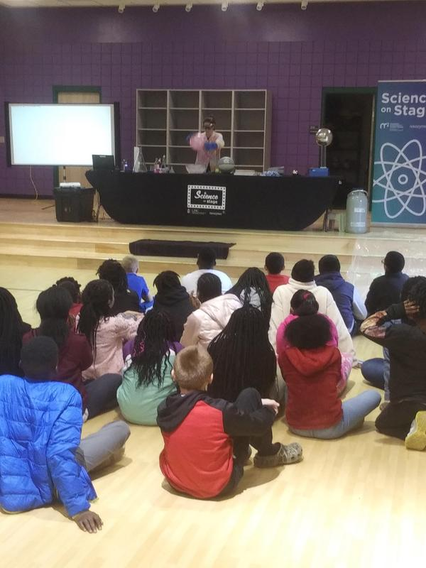 Morehead Planetarium and Science Center brings Science on Stage to Princeville! Featured Photo