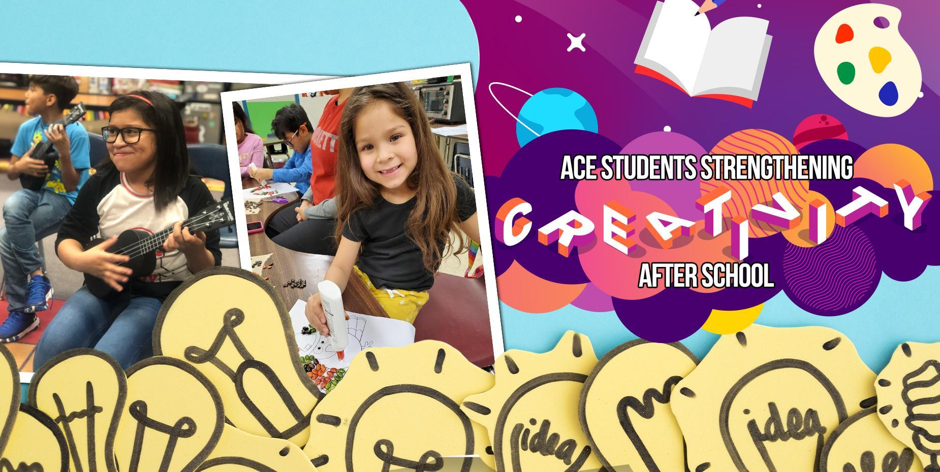 ACE students strengthening creativity after school