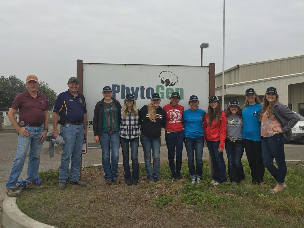 Cotton Team visits Phytogen