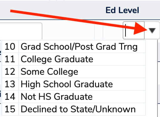 Ed Level