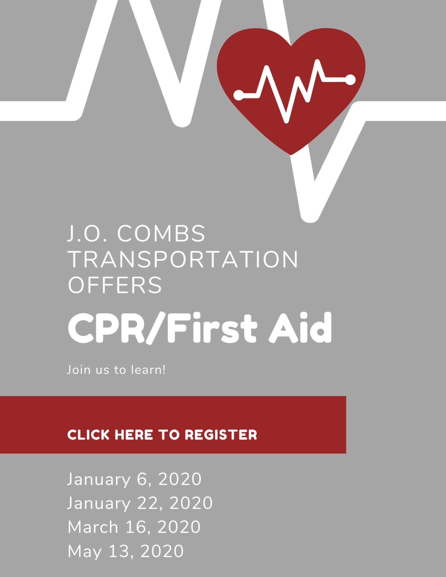 CPR/First Aid Classes