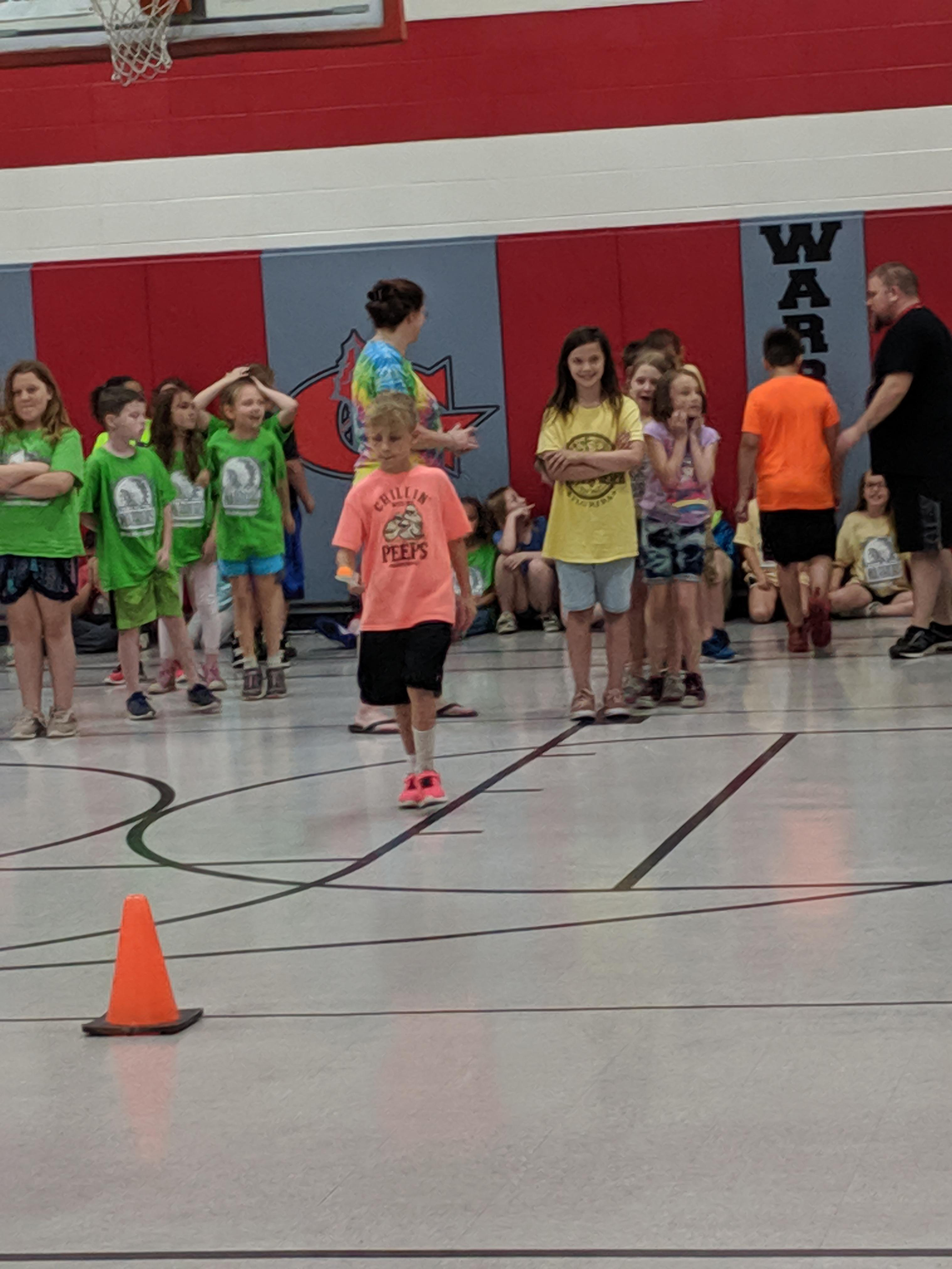 Track and field day