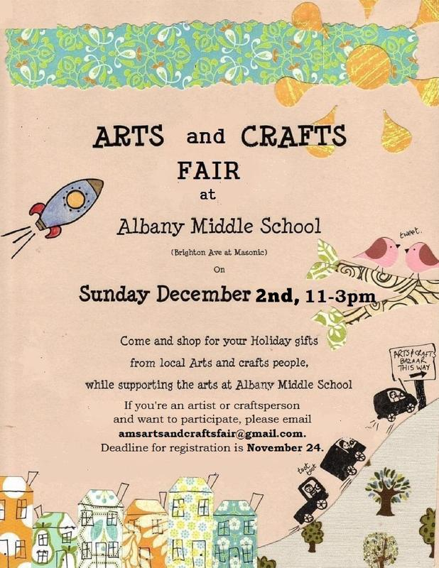 AMS Arts and Crafts Fair flyer