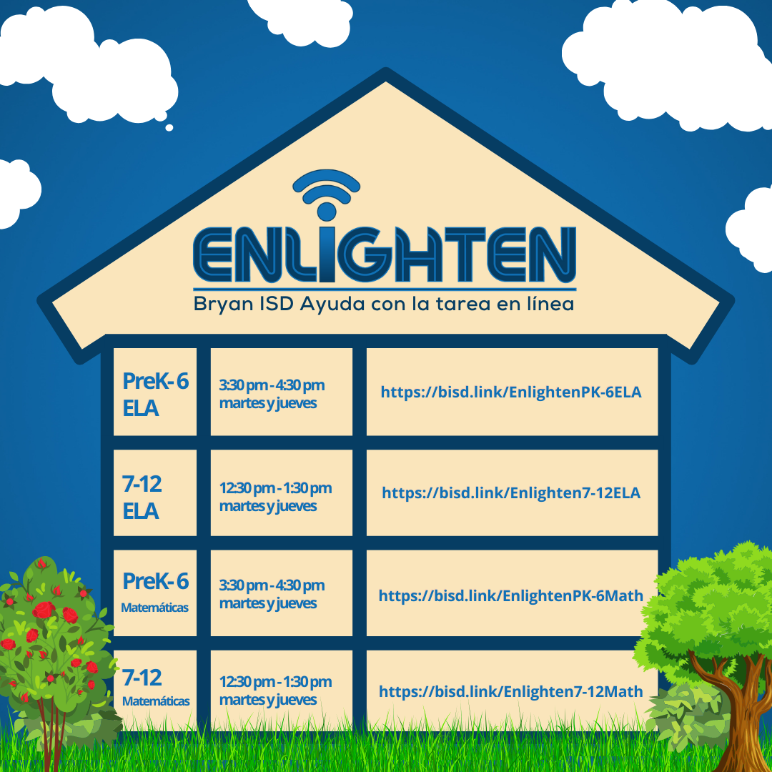 Enlighten graphic in Spanish