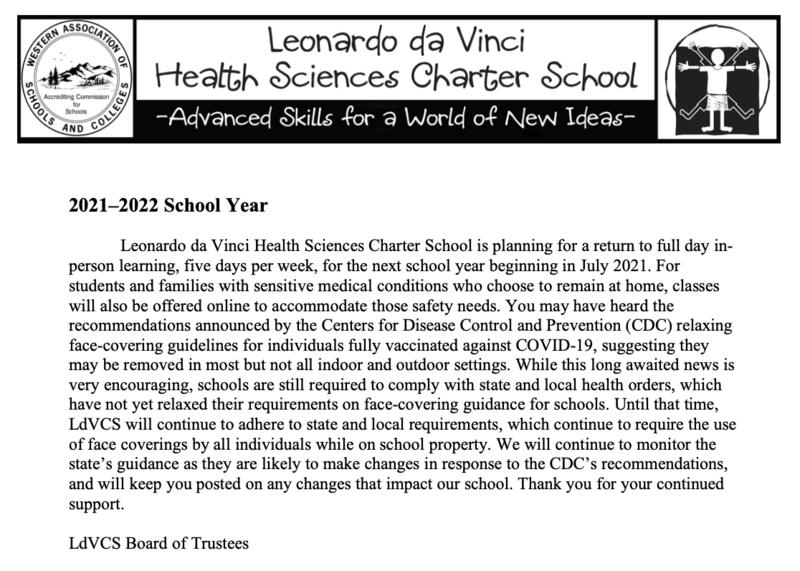 2021 - 2022 School Year Featured Photo