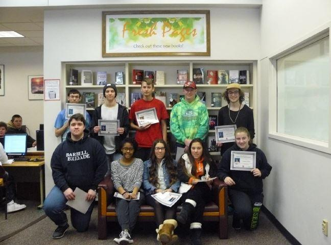 JANUARY STUDENTS OF THE MONTH Thumbnail Image