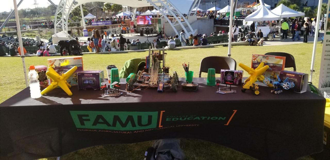 STREAM Robotics and College of Education at Famu Annual Harambee Festival 2020