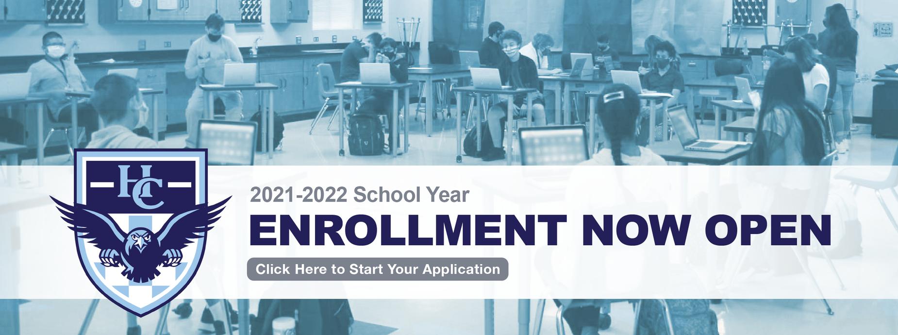 Enrollment now open