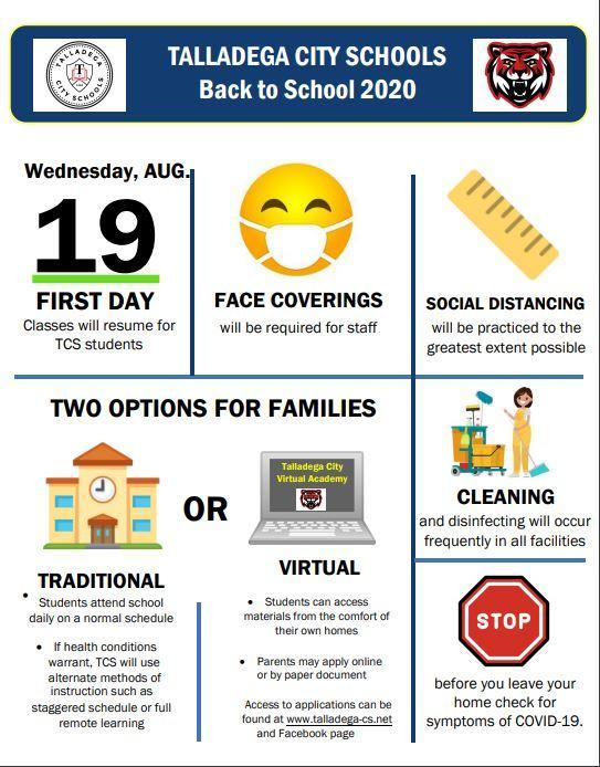 Back to School Info Featured Photo